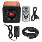 USB Digital Industry Video Inspection Microscope Camera Set TF Card Video Recorder