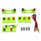 Electric Circuit Kit Bulb Switch Conductive Line Kid School Educational Science Toy DIY Montessori