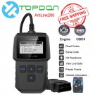 TOPDON AL200 OBD OBD2 Engine Scanner Diagnostic Tool / Car Code Reader