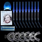 Teeth Whitening Kit (9) Tubes (2) Trays (1) White LED Light Best 22% CP Gel