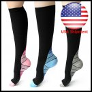 Compression Socks Sports Men Women Calf Shin Leg Running Fitness Cross Fit S~XL