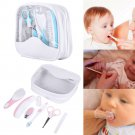 Baby Infant Comb Toothbrush Nail Clipper Health & Grooming Care Kit (7 Piece Set)