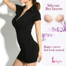 Silicone Bra Inserts for Breast Enhancement (Size B to C)