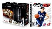 Sony PlayStation 80 GB Action Bundle with Motorstorm and NCAA 2k7
