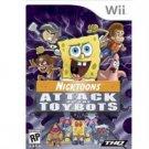Nicktoons Attack Toybots Wii