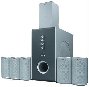 JWIN JSP701 5.1-Channel Di/ tal 2.4 GHz Wireless Home Theater System