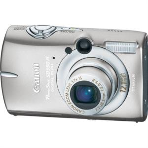 """Canon 12.1MP Digital ELPH Camera with 3.7x Image Stabilized Optical Zoom and 2.5"""" LCD"""