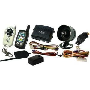 PYLE PWD511 2-Way Car Alarm System w/Five Button LCD Transmitter & Antenna