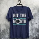 Hit The North The Fall Inspired UK Post-Punk Band Adults T-Shirt All Sizes Cols