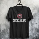 Bear Funny Gay Pride Humour Hairy Muscles Built BIg Cuddly Adults T-Shirt All Sizes