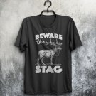 Beware The Stag Do Party Weekend Funny Bachelor Adults T-Shirt All Sizes Cols