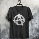 Anarchy Symbol Logo Punk Thrash Heavy Metal Skater Rock Adults T-Shirt All Sizes Cols