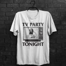 TV Party Tonight Rollins Black Henry Flag Punk Rock Inspired Adults T-Shirt All Sizes
