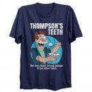 THOMPSON'S TEETH FUNNY FUTURE SCI FI CARTOON MENS 4XL T-SHIRT