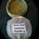 Green n Gold Eyeshadow