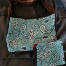 Paisley Shoulder Bag w/ Matching Coin Purse