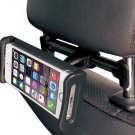 E-books N53 Car Seat Headrest Mount Holder for Mobile Phones and Tablets Black
