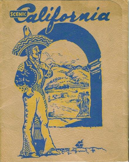 Scenic California Folio - Southern Pacific Lines