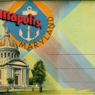 Annapolis, Maryland Souvenir Folder