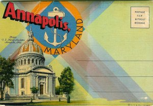 Annapolis, Maryland Souvenir Folder