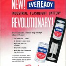 Old Eveready Battery Sales Advertising Brochure