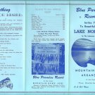 Blue Paradise Resort, Lake Norfork, Mountain Home Arkansas Advertising Pamphlet