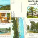 Ahner's Resort and Artilla Cove, Indian Point, Branson, Missouri Advertising Pamphlet