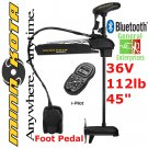 Minn Kota Trolling Motor | Ultrex 112 US2 | Foot Control Trolling Motor | iPilot