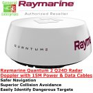 Raymarine | Q24D | Doppler Radar | CHIRP | Weather Radar | Doppler Weather Radar