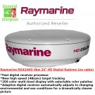 Raymarine | RD424HD 4kW | Weather Radar | Digital Radar Dome | Marine Radar