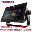 Raymarine | Axiom 9 | Marine Navigation | Navionics | GPS | Sonar | Radar