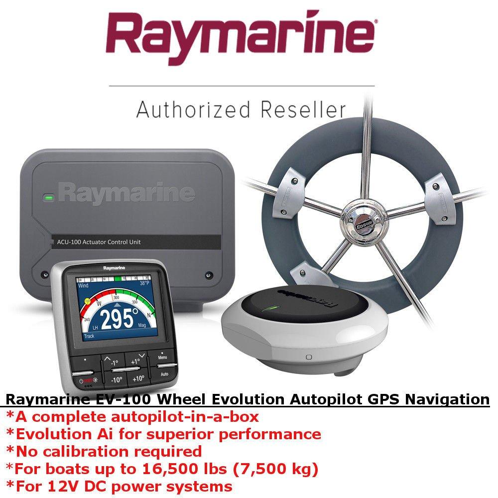 Raymarine EV100 Wheel Evolution | Autopilot | GPS Navigation | Marine Navigation