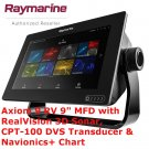 Raymarine Axiom 9 | GPS | Sonar | Radar | Marine Navigation | Navionics
