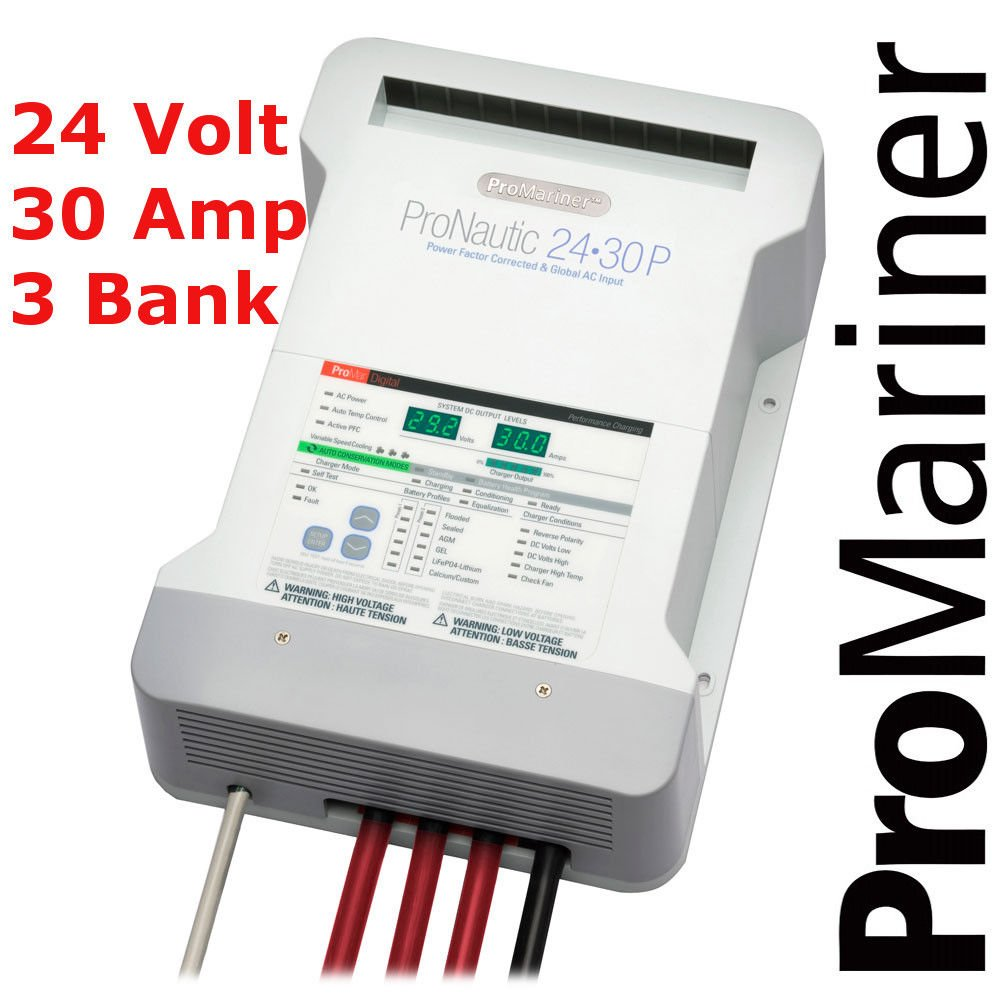 ProMariner Battery Charger | ProNautic 2430P | Battery Charger 24v | 30 amp