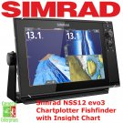 Simrad NSS12 EVO3 | Fish Finder | Chart Plotter | GPS Navigation | Marine GPS