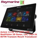 Raymarine | Axiom 12 RV | GPS | Chart Plotter | Fish Finder | Navigation System
