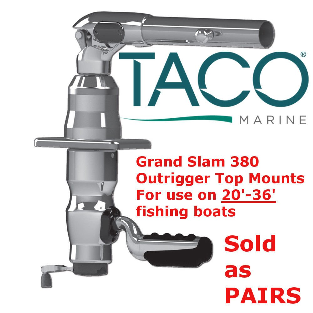TACO Grand Slam 380   Outrigger   Boat Parts   Marine Supply   Boat Accessories