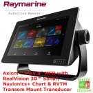 Raymarine Axiom 9 | Fish Finder | Sonar | GPS Navigation System | Boat GPS