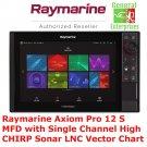 Raymarine Axiom Pro 12 S MFD | Chart Plotter | Fish Finder | CHIRP | Sonar | GPS