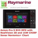 Raymarine | Axiom Pro 9 RVX | CHIRP | Sonar | GPS | Fish Finder | Chart Plotter