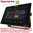 Raymarine Axiom 12 RV | Sonar 3D | Navionics | GPS | Chart Plotter | Fish Finder