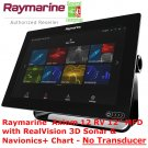 Raymarine Axiom 12 RV | Navionics | Chart Plotter | GPS Navigation | Fish Finder