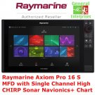 Raymarine Axiom Pro 16 S MFD | Fish Finder | Chart Plotter | CHIRP | Sonar