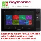 Raymarine Axiom Pro 16 RVX MFD | GPS | CHIRP | Sonar Fish Finder | Navigation