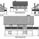 Cabin | Loft | Garage | 2 BD | 1-3/4 BA | 26 x 46 Main FL | Custom Cabin 1 | DIY