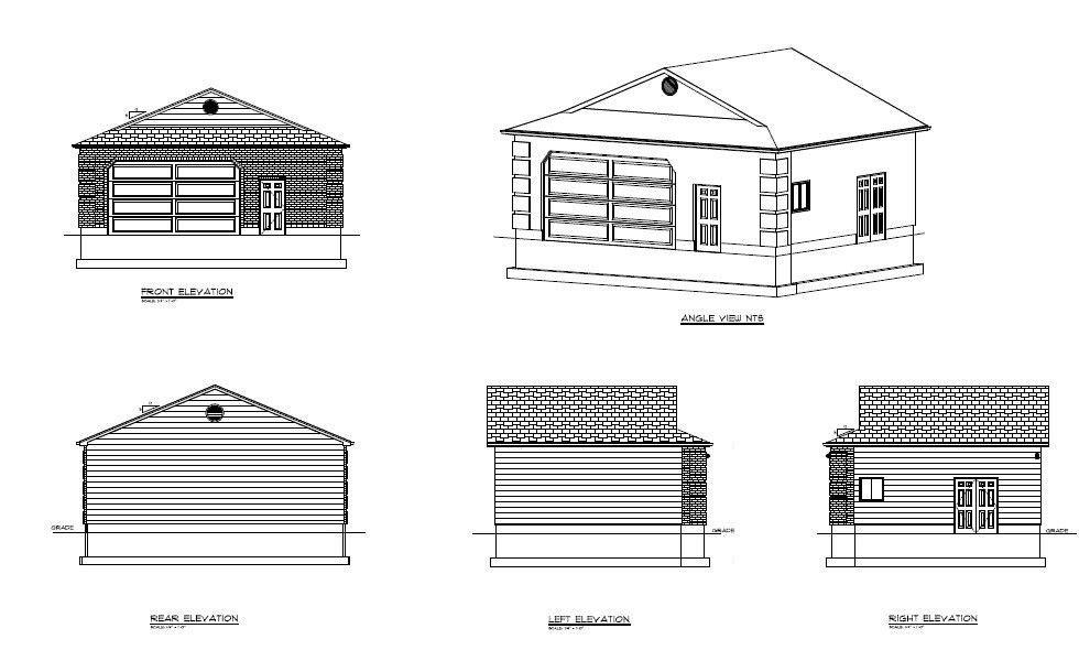 2 Car Garage 25x31 | Garage Building Plans | 775 sqft | Custom Garage 2 | DIY