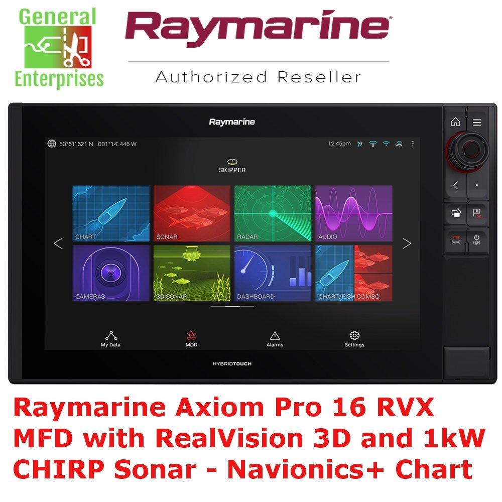 Raymarine Axiom Pro 16 RVK MFD | GPS | Navigation | CHIRP | Sonar | Fish Finder