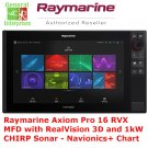 Raymarine Axiom Pro 16 RVK MFD | GPS | Navigation | CHIRP | Sonar | Fish Finder