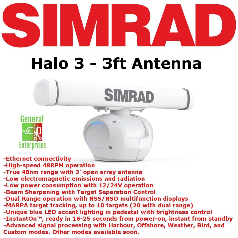 Simrad Halo 3 | Weather Radar | ARPA | Radar | MARPA