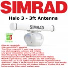 Simrad Halo 3 | Weather Radar | ARPA | Radar | MARPA